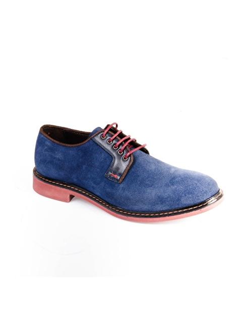 Wessi Bağcıklı Süet Ayakkabı Lacivert